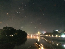 Lights, camera, lanterns!